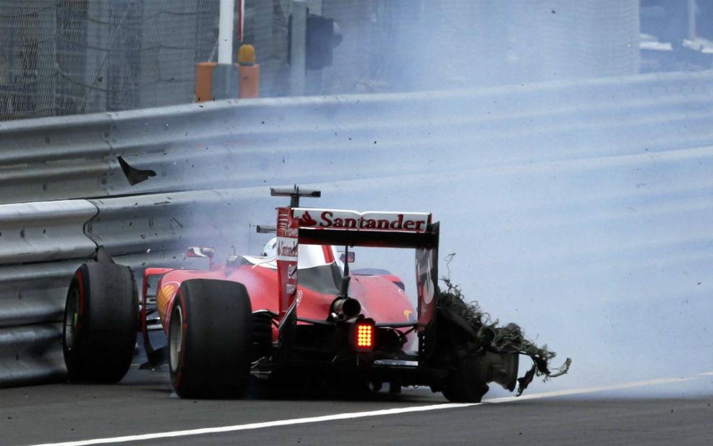Im letzten Jahr gab es für Vettel keine Zweikämpfe um den Sieg - stattdessen Ausfall nach einem Reifenplatzer.