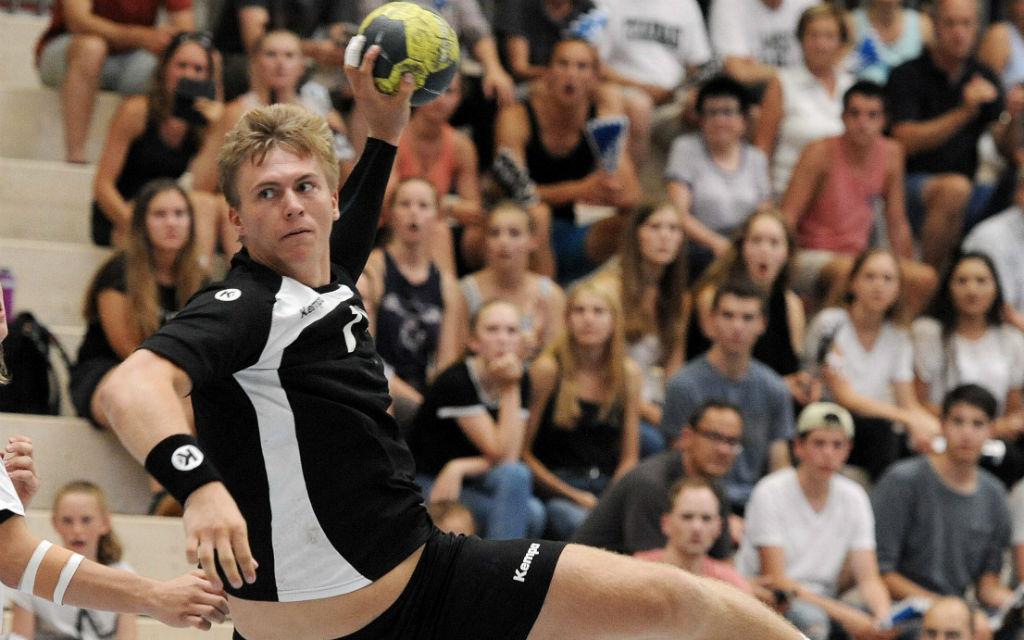 Im ersten Spiel der Vorrunde traf Franz Semper drei Mal für die deutsche U21-Auswahl.