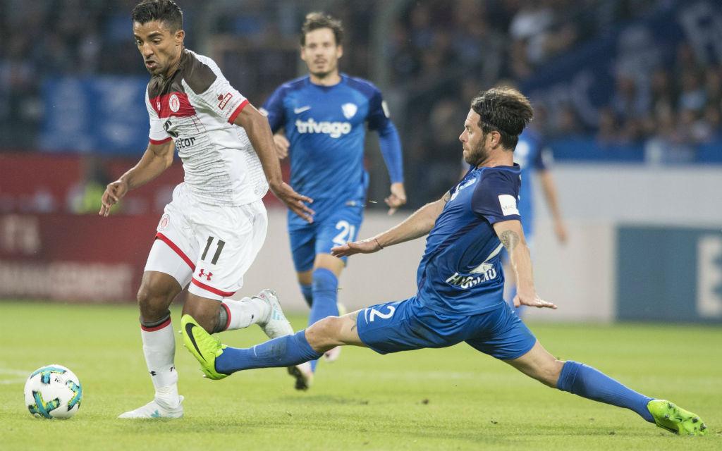 Im Ruhrderby gegen Duisburg will Bochums Hoogland besser verteidigen als gegen St. Pauli.i.