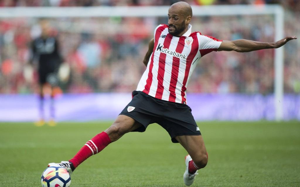 Mikel Rico im Freundschaftsspiel zwischen Athletic Bilbao - FC Liverpool.