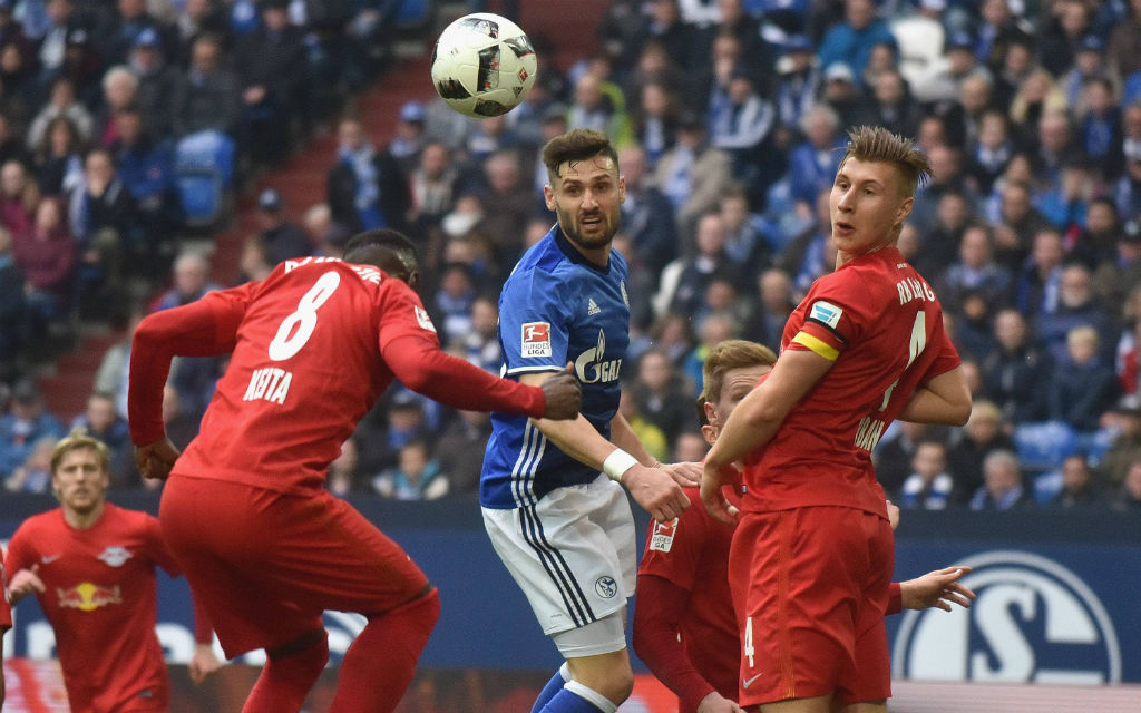Endlich ein Dreier? Schalkes Caligiuri will nach einem Remis und einer Niederlage endlich gegen RB gewinnen.