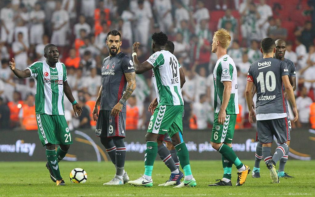 Besiktas verlor den Supercup gegen Konyaspor mit 0:1