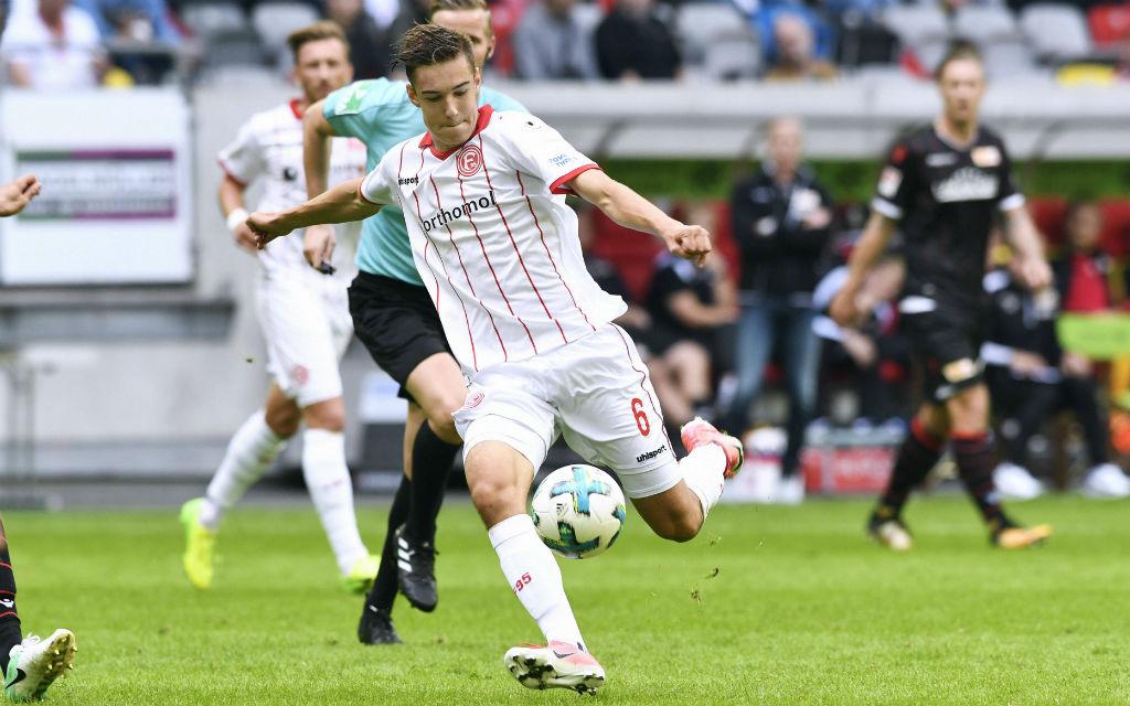 Heimstärke bewiesen: In der Nachspielzeit erzielte Neuhaus zuletzt Fortunas Siegtreffer gegen Union Berlin.