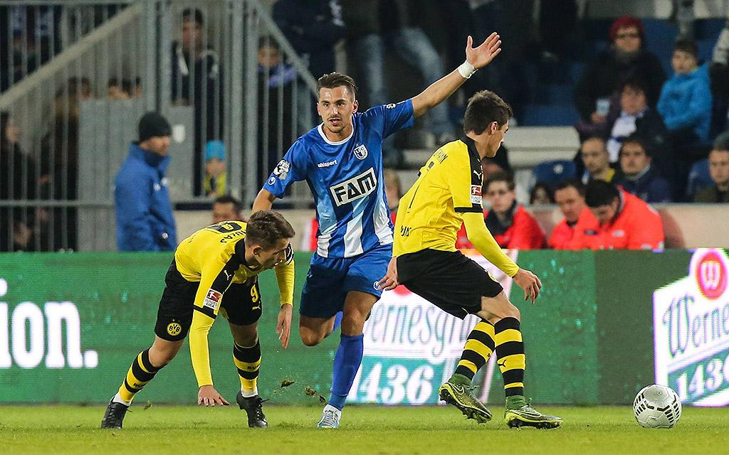 2015: Magdeburg und Dortmund trennen sich in einem Testspiel 2:2