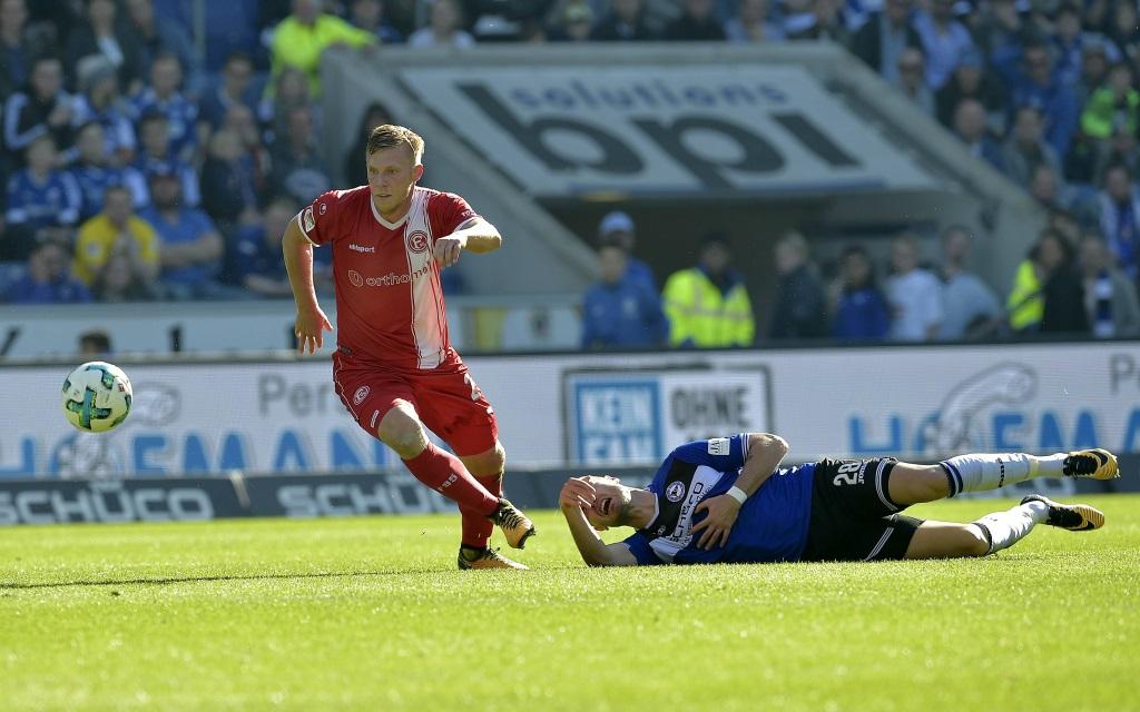 Rouwen Hennings lässt sich von Bielefeld nicht aufhalten.