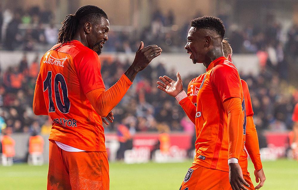 Adebayor und Elia sind Basaksehirs Erfolgsgaranten: Auch gegen Kayserispor?