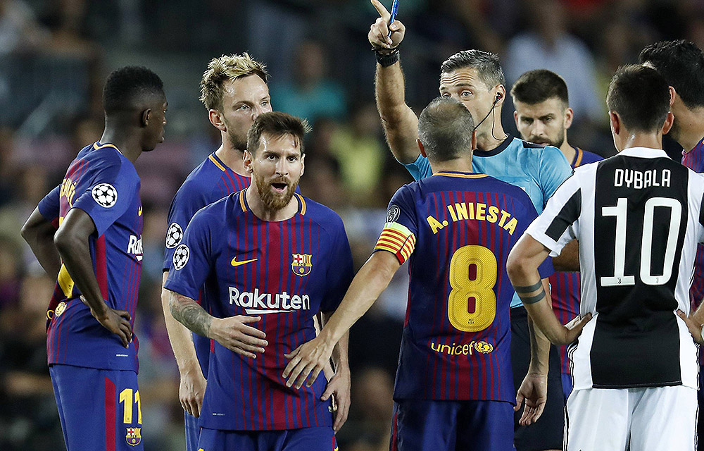 Messi und Co. gewannen das Hinspiel mit 3:0