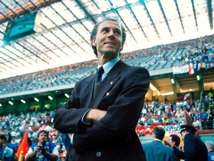 WM 1990 Franz Beckenbauer