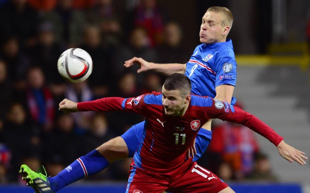 Tschechien gegen Island bei der EM-Qualifikation in Prag im November 2014.
