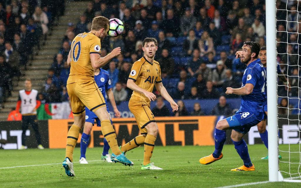 Spurs-Stürmer Kane traf zuletzt viermal gegen Leicester.