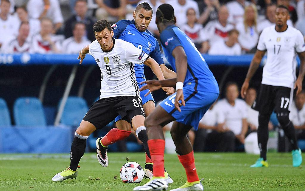 Mesut Özil und Co. treffen auf Frankreich