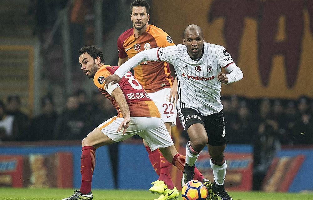 Das letzte Duell zwischen Besiktas und Galatasaray gewann Besiktas mit 1:0
