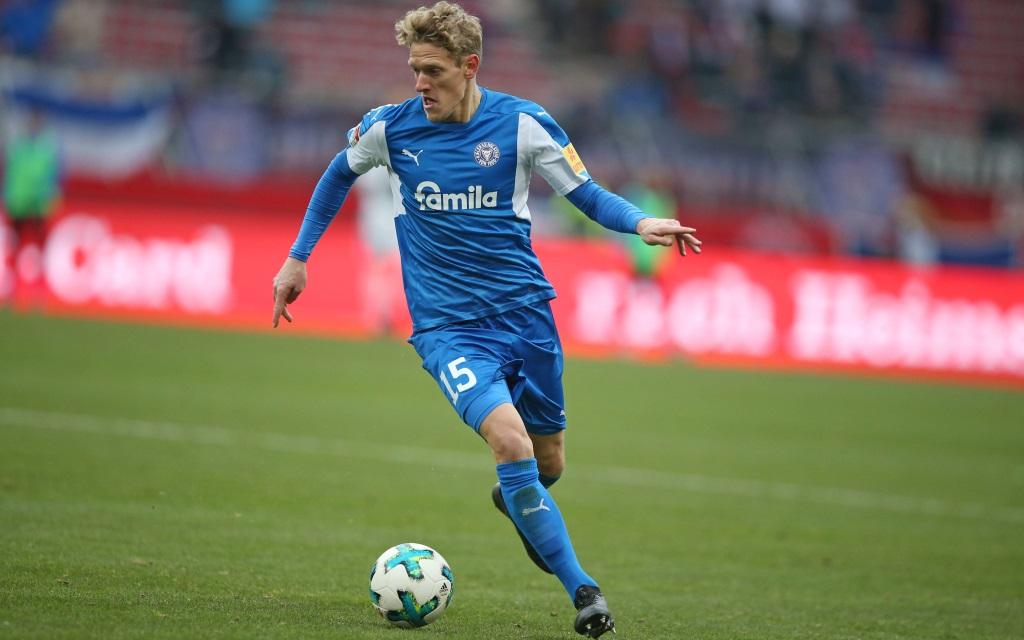 Johannes van den Bergh im Spiel 1. FC Nürnberg - Holstein Kiel.