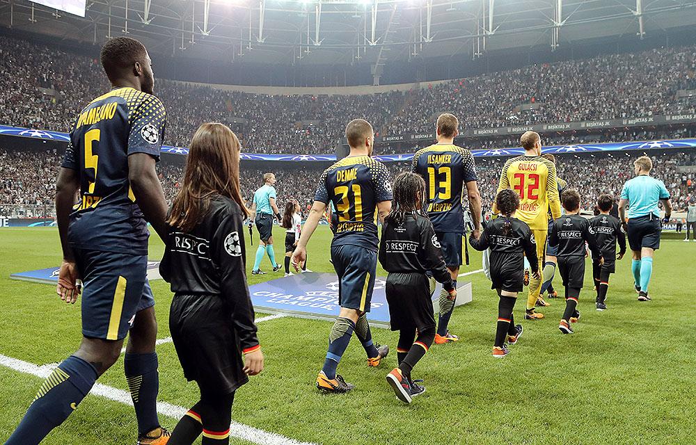 Im Hexenkessel von Istanbul verlor RB Leipzig das Hinspiel mit 1:2