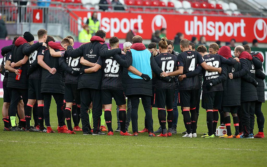 Der 1. FC Nürnberg peilt die Überraschung iim DFB-Pokal an