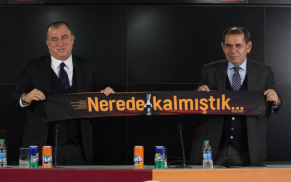 Zum vierten Mal bei Galatasaray: Fatih Terim