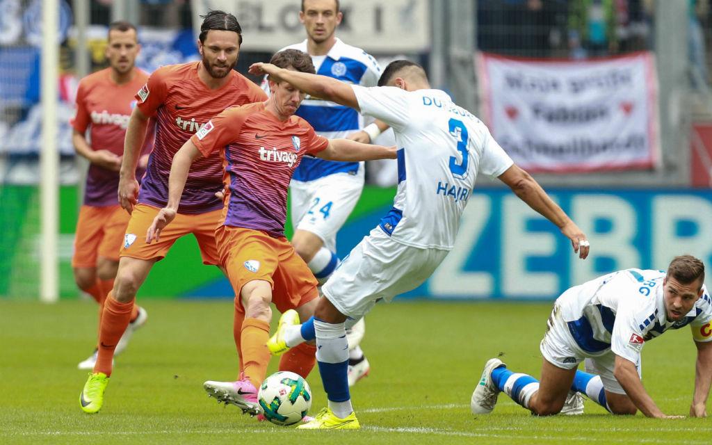 Das Ruhrderby endete in der Hinrunde 1:1.