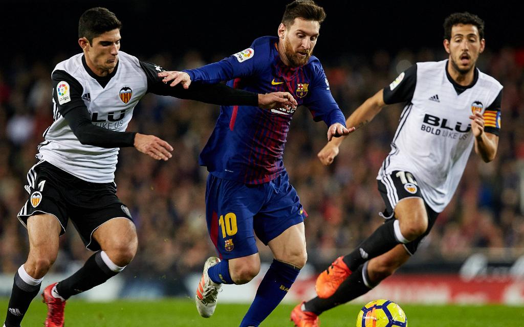 Barca will gegen Valencia vorlegen: Stoppt Messi – das Motto des FC Valencia.