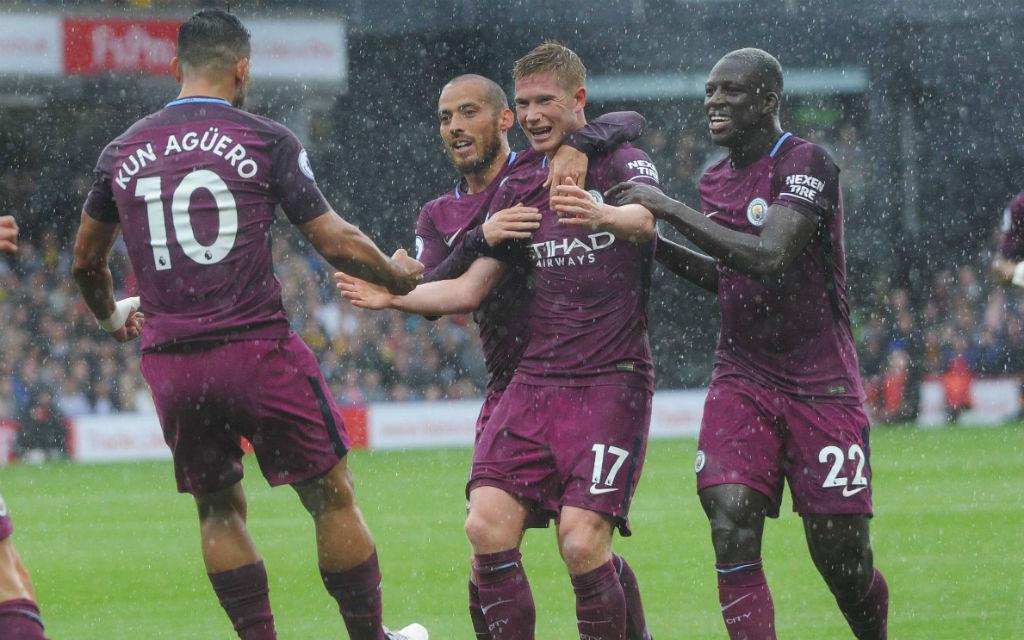 Torrausch in der Hinrunde: City siegte 6:0 in Watford.