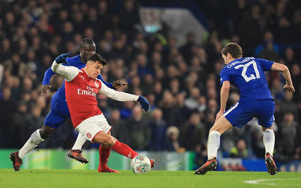 Alexis Sanchez war für Arsenal im Hinspiel noch am Start - jetzt ist er weg