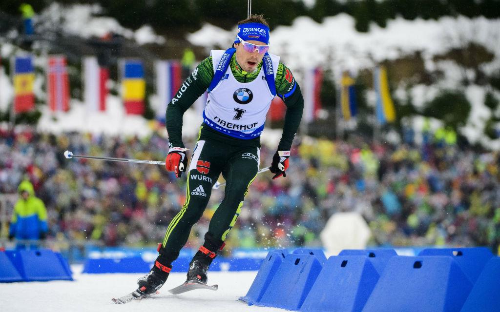 Zuletzt in Oberhof belegte Schempp im Sprint nur Platz 34.