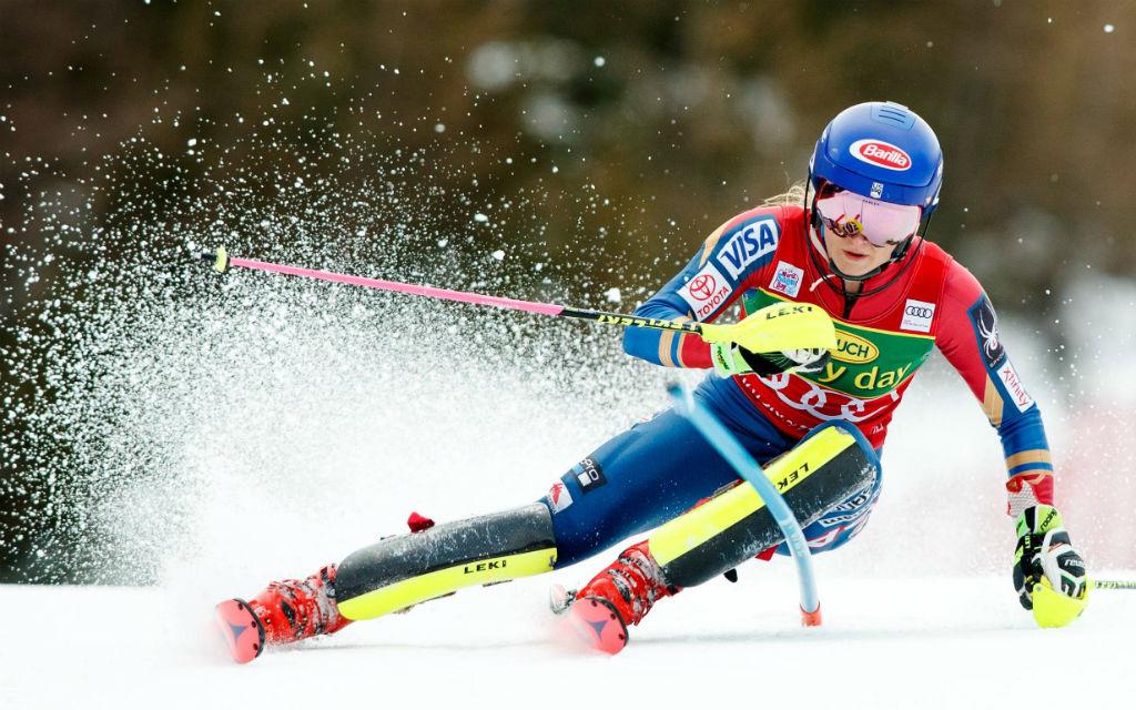 Bereits 4 Slaloms hat Mikaela Shiffrin in diesem Winter gewonnen.