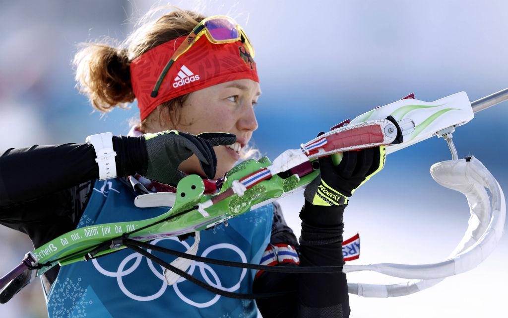 Holt Laura Dahlmeier peilt mit ihrem Team Staffel-Gold?