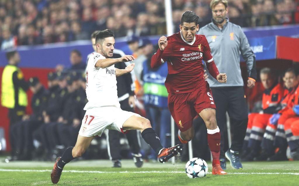 Trifft Liverpools Firmino (r.) auch gegen Porto?