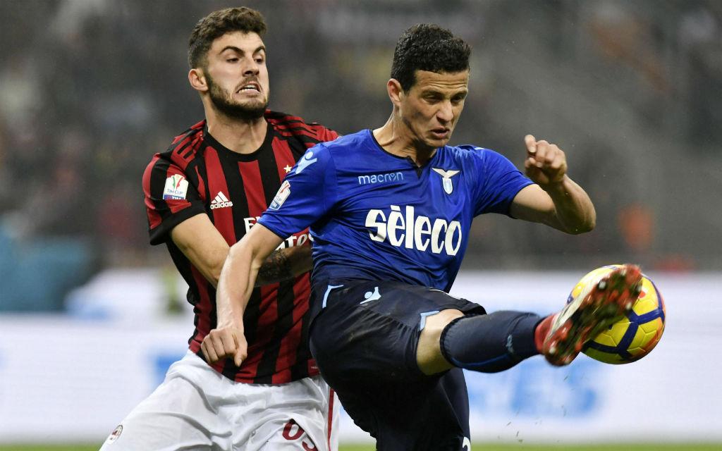Halbfinale Coppa Italia: im Hinspiel zwischen AC Milan und Lazio Rom fielen keine Tore.