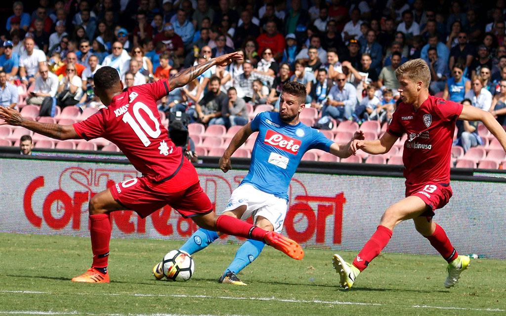 Der SSC Neapel hat in fünf der letzten sieben Spiele kein Tor kassiert. Nun auch gegen Cagliari?