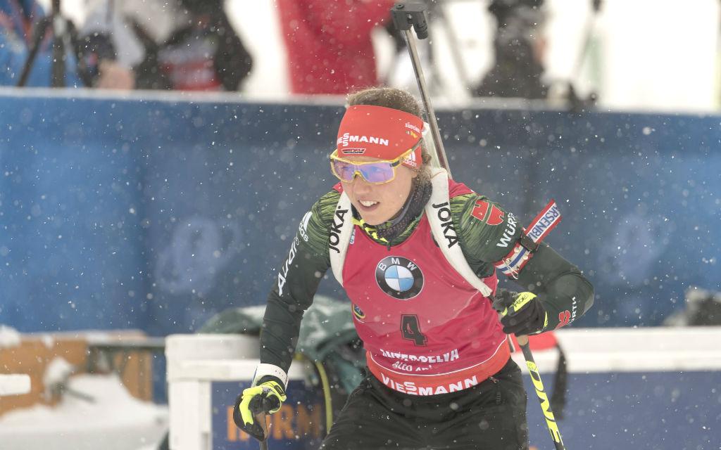 Laura Dahlmeier ist die Favoritin im Sprint.