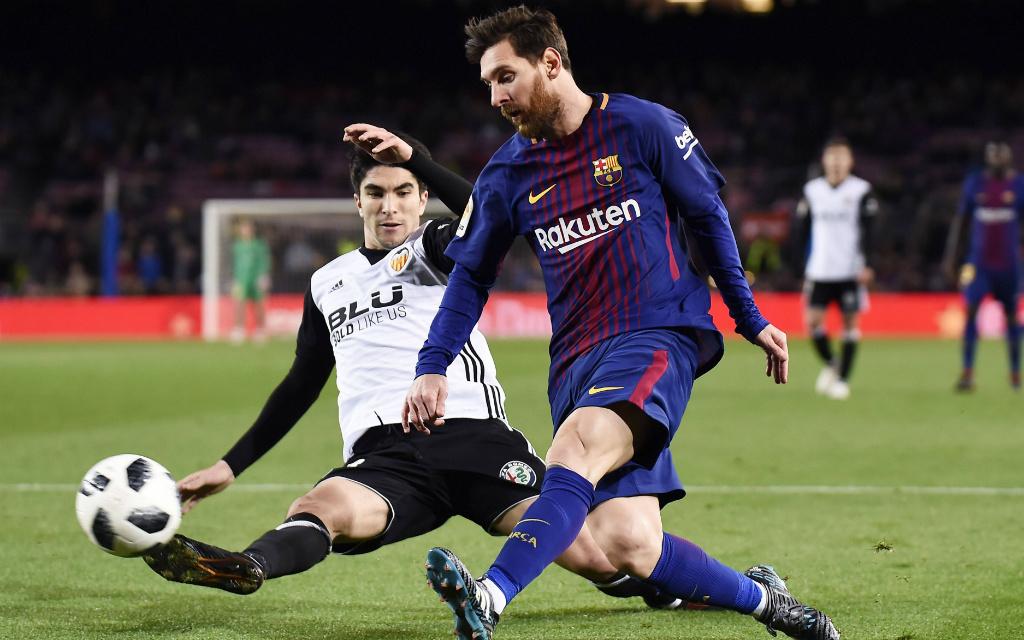 Kickt Valencia Barca mit einem hohen Sieg aus der Copa?
