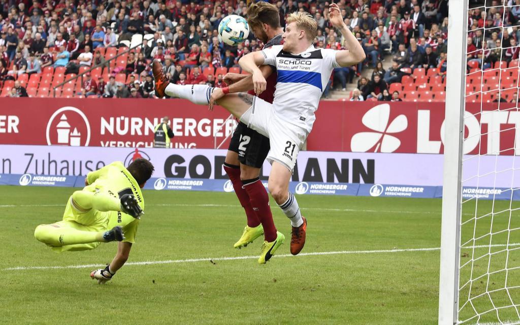 Die Arminia gewann in der Hinrunde 2:1 in Nürnberg.