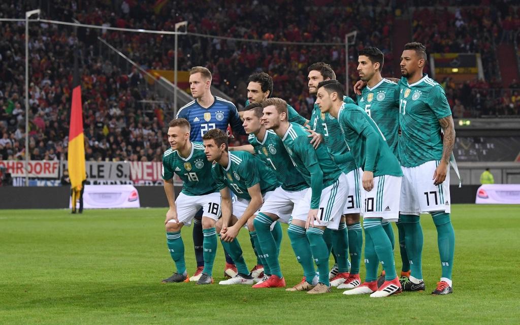 Deutschland im ersten Länderspiel des Jahres 2018. Gegen Brasilien sieht die Startelf anders aus.