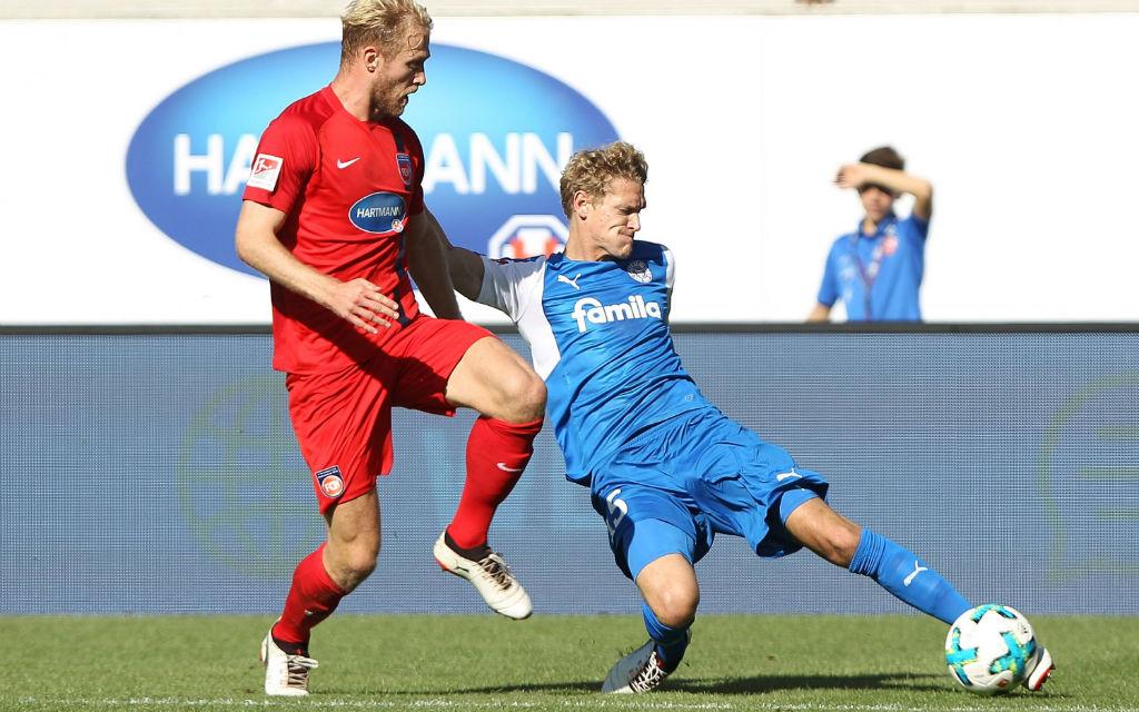 In der Hinrunde gewann Kiel mit 5:3 in Heidenheim.
