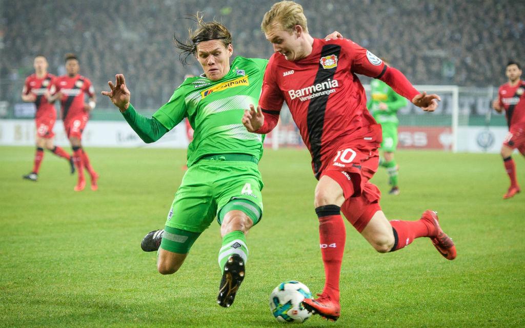 Beim letzten Duell mit Gladbach siegte Bayer 04 im DFB-Pokal mit 1:0.