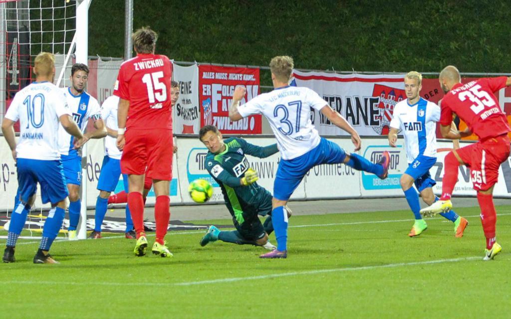 Ostderby: In der Hinrunde gewann Zwickau 3:1. Schlägt Magdeburg nun zurück?