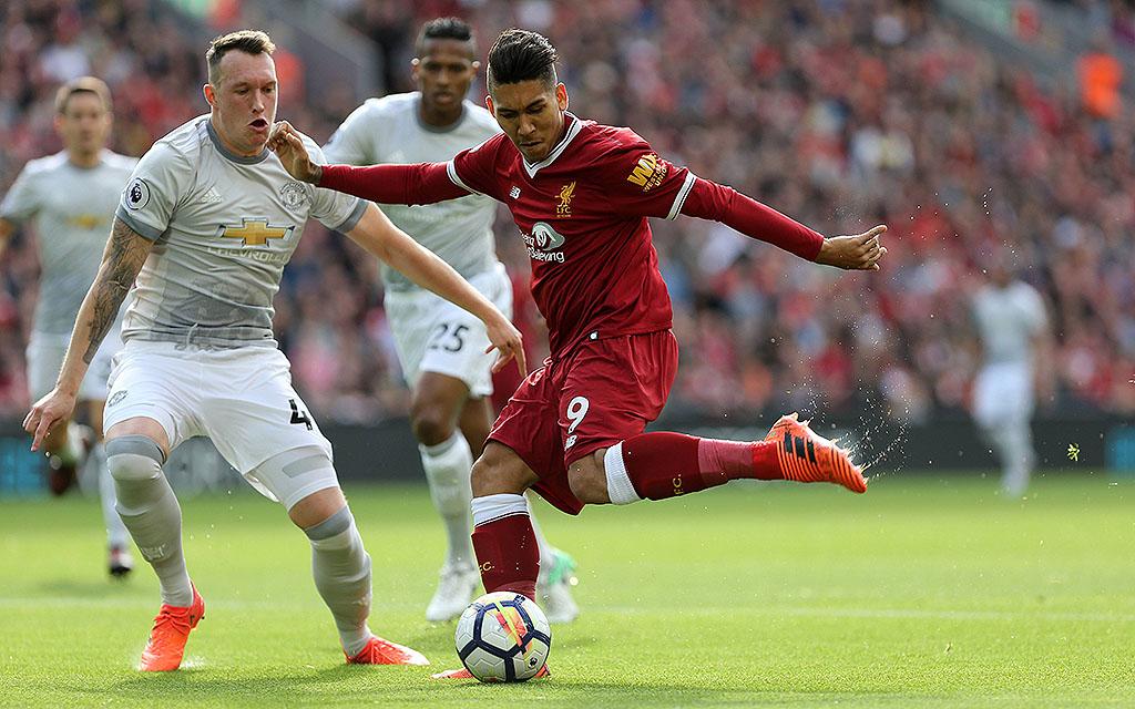 Das Hinspiel an der Anfield Road gewann Manchester United mit 1:0 in Liverpool