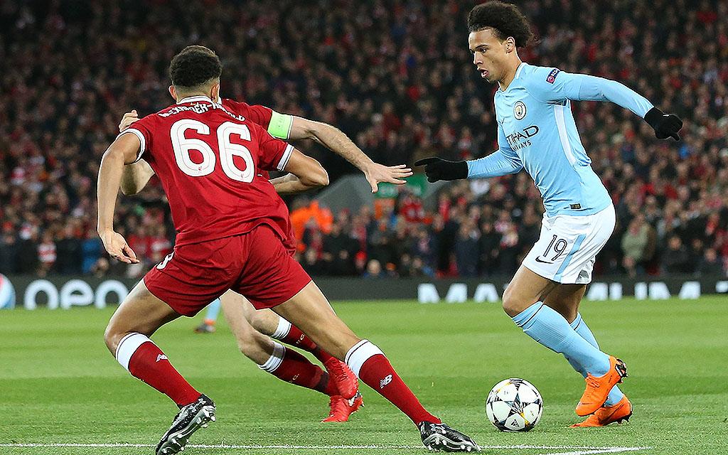 Kein Durchkommen für Sane und Co.: Liverpool gewann das Hinspiel mit 3:0