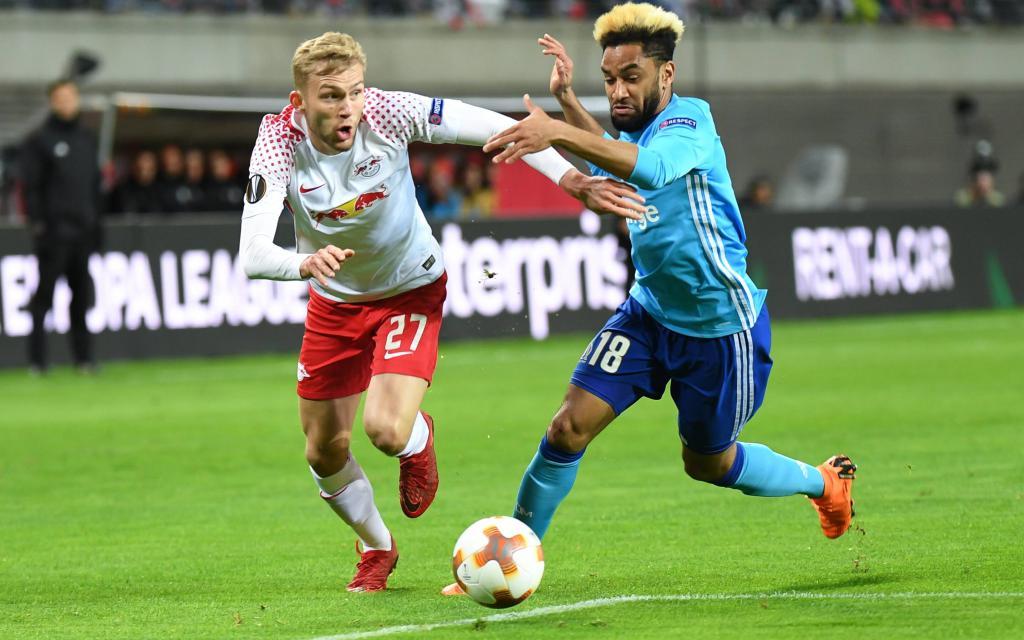 Wenn Leipzig weiter ungeschlagen bleibt, dann haben sie das Halbfinale erreicht.