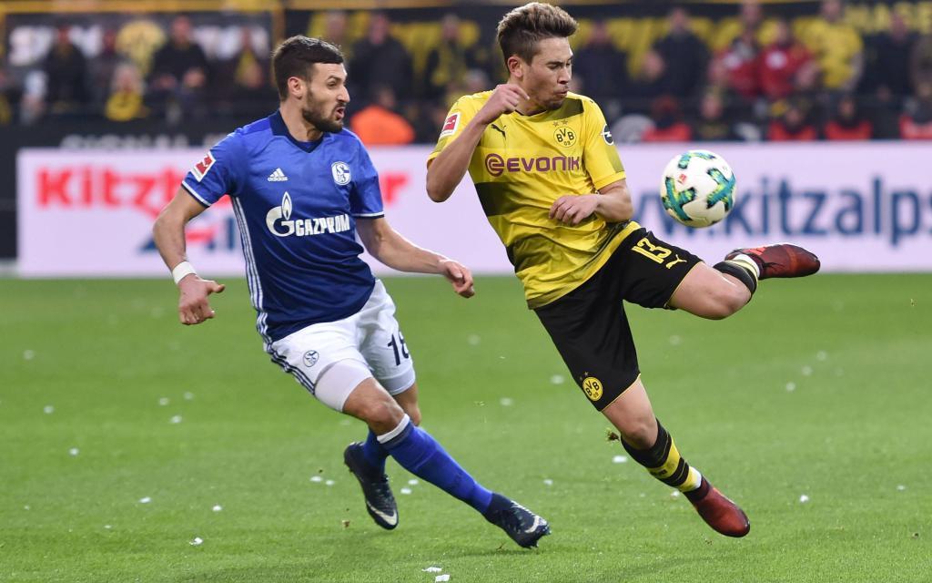 In der Hinrunde gab es im Westen zwischen Dortmund und Schalke ein 4:4.
