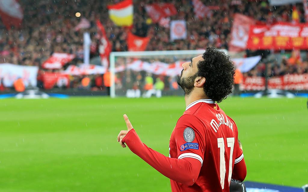 AS Rom - FC Liverpool: Mohamed Salah traf im Hinspiel gegen seinen Ex-Klub, jubelte aber nicht.