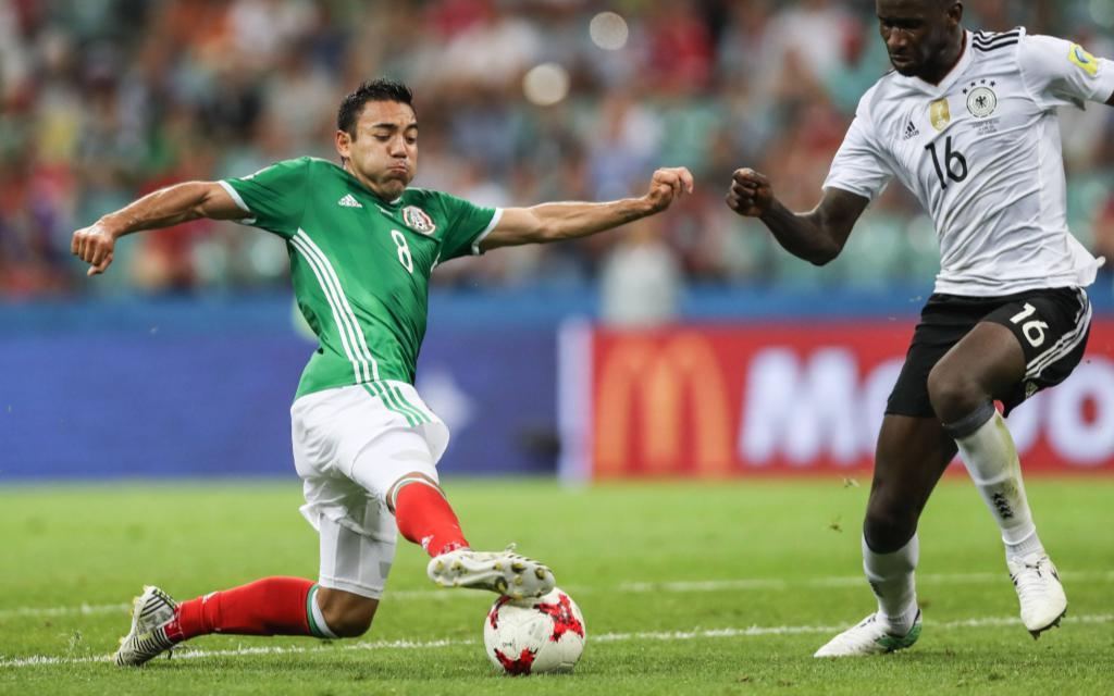 Mexiko hatte beim Confed Cup keine Chance gegen Deutschland.