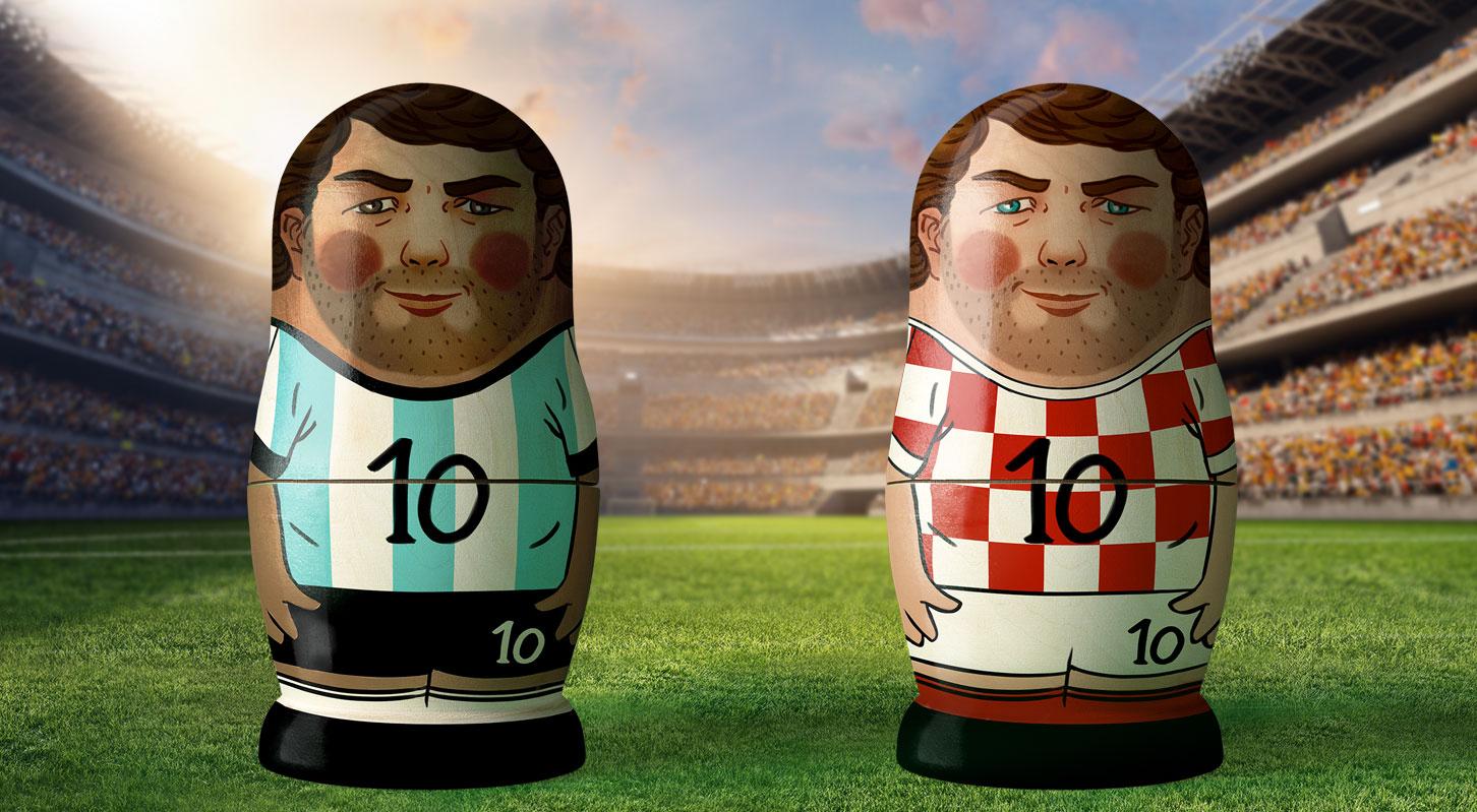 WM 2018 Argentinien-Kroatien
