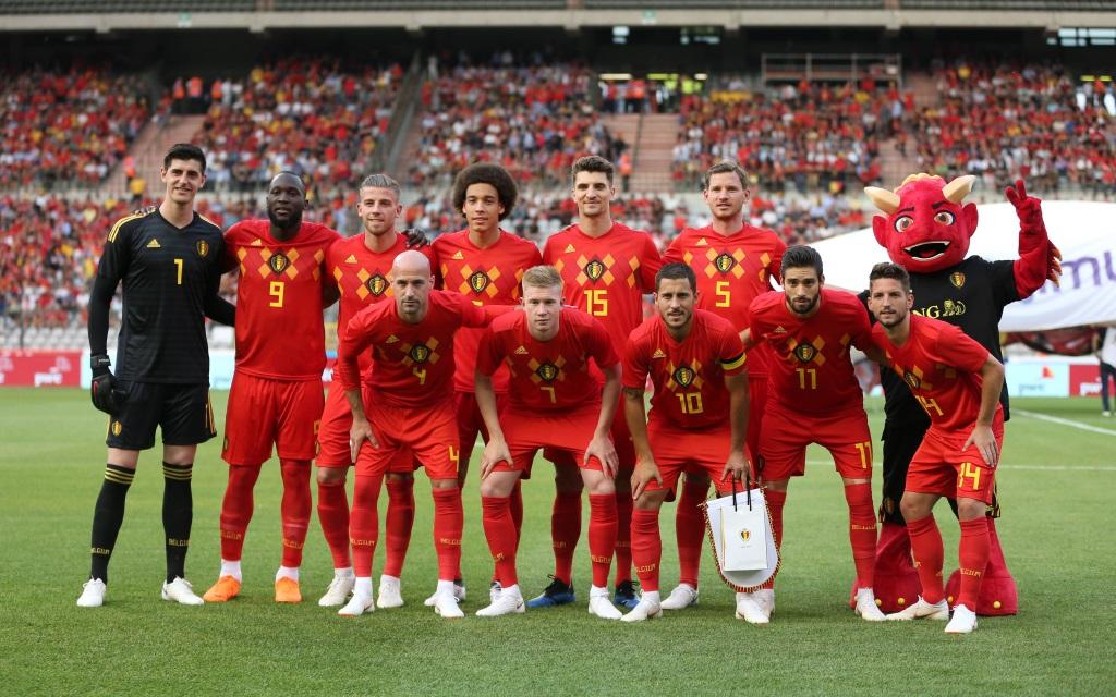 Belgien vor dem vorletzten WM-Test gegen Ägypiten.