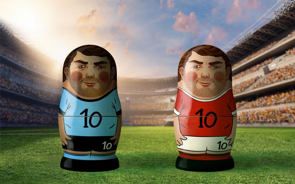 Uruguay - Russland Gruppe A 3. Spieltag WM 2018