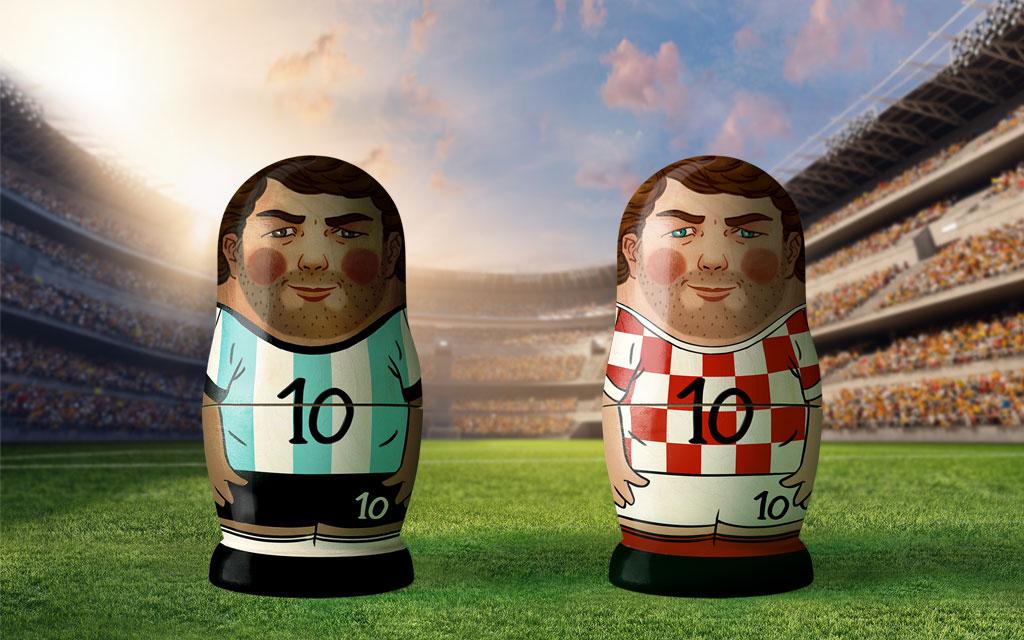 Vizeweltmeister Argentinien gegen Geheimfavorit Kroatien