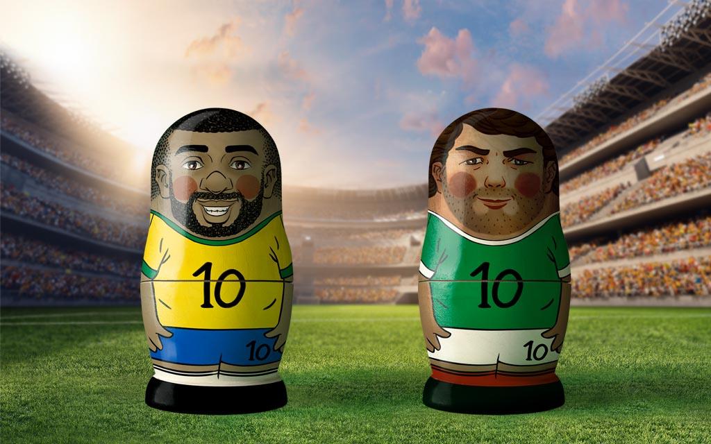 WM 2018, Achtelfinale: Brasilien - Mexiko