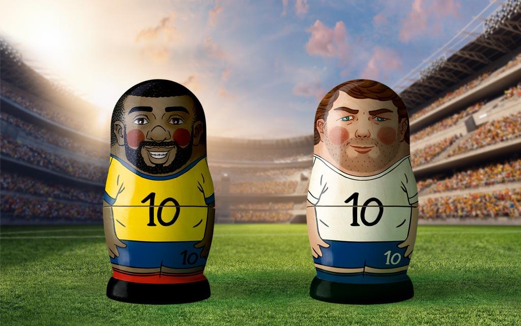 WM 2018, Achtelfinale: Kolumbien - England