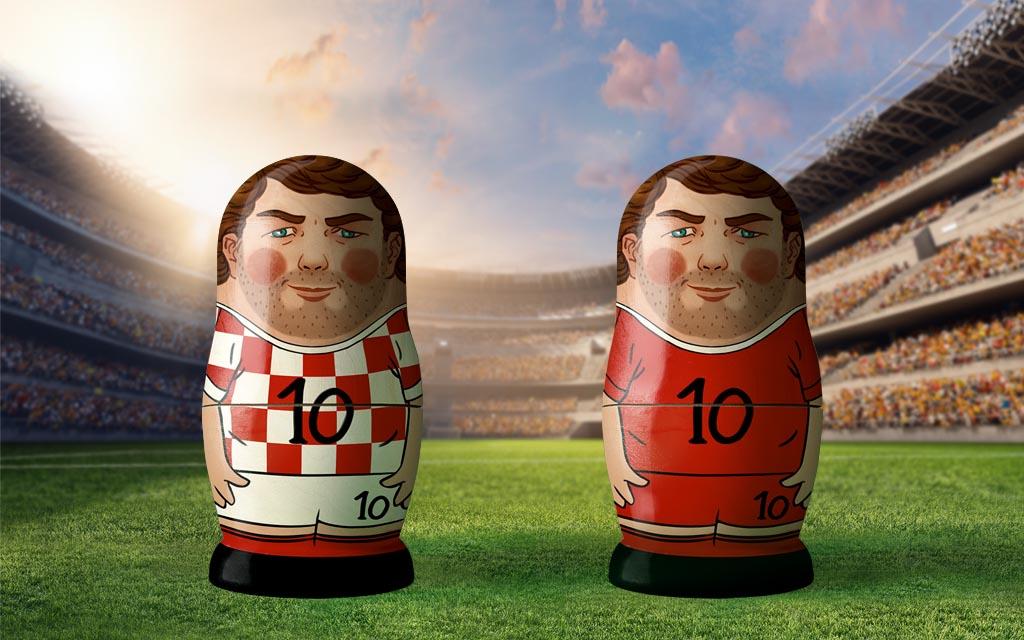 WM 2018, Achtelfinale: Kroatien - Dänemark